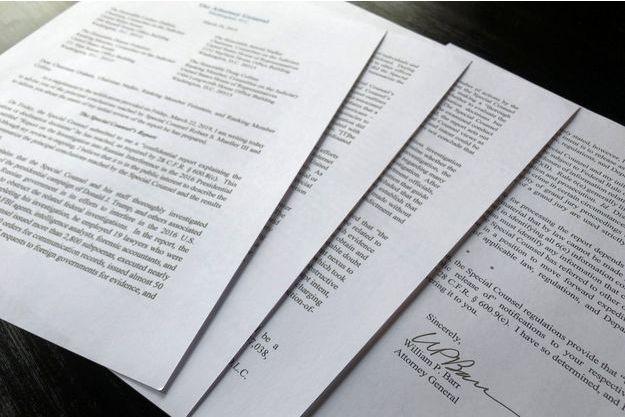 Les conclusions du rapport Mueller.