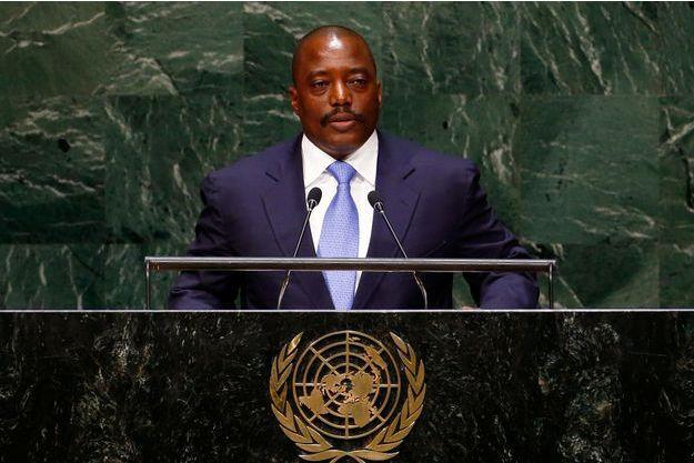 Le président de la RDC Joseph Kabila.