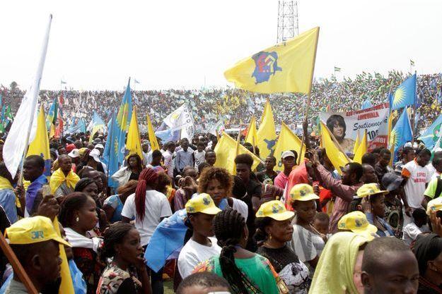 Manifestation des partisans de Joseph Kabila à Kinshasa, le 29 juillet dernier.