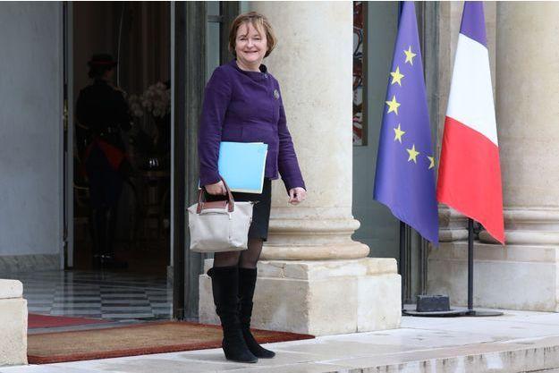 La ministre française aux Affaires européennes Nathalie Loiseau, fin octobre à l'Elysée.