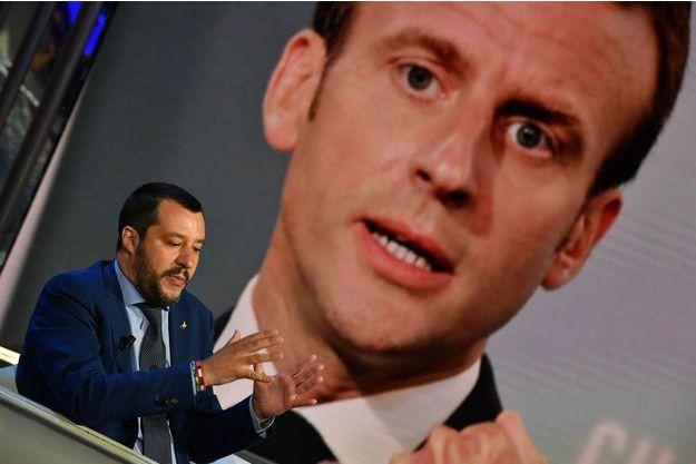 Salvini se dit prêt à rencontrer le président français.
