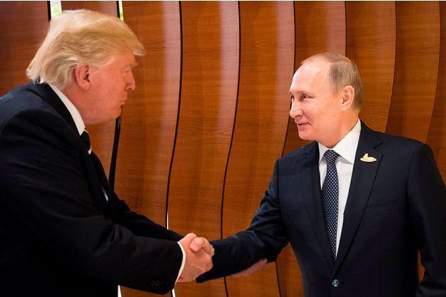 Donald Trump et Vladimir Poutine.