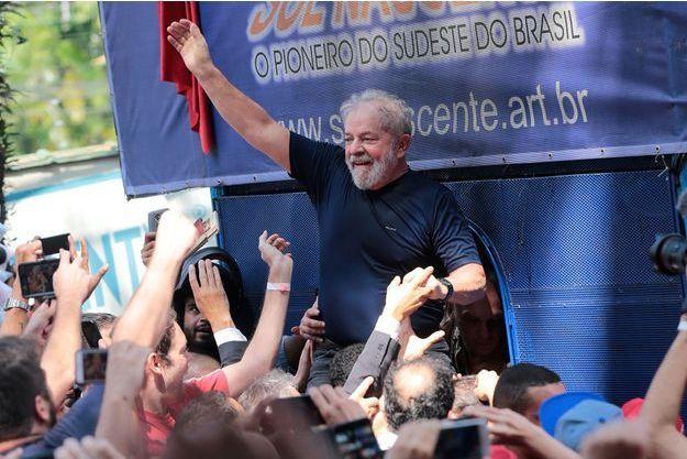 Lula en avril dernier.