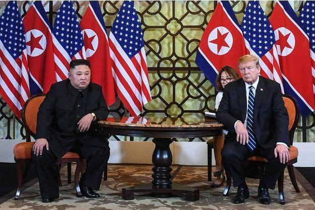 Sommet entre Kim Jong Un et Donald Trump à Hanoï.