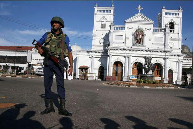 Les autorités sri-lankaises redoutent d'autres attaques contre la minorité chrétienne comme ici à Colombo.