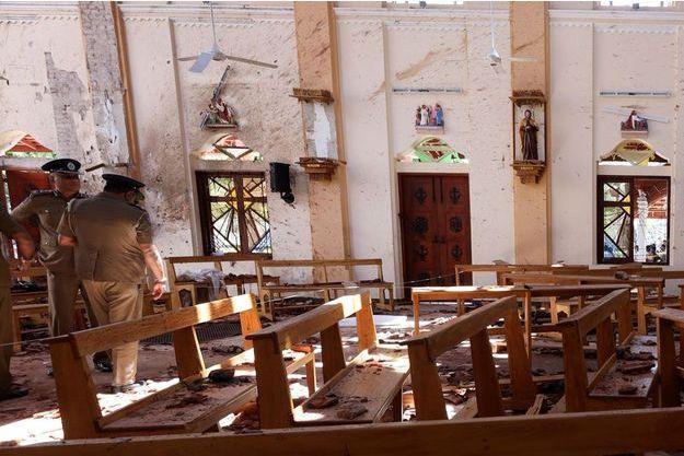 Deux églises ont notamment été prises pour cible par les terroristes.
