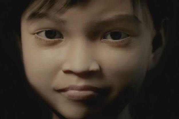 Sweetie, la fillette virtuelle créée par l'association Terre des Hommes.