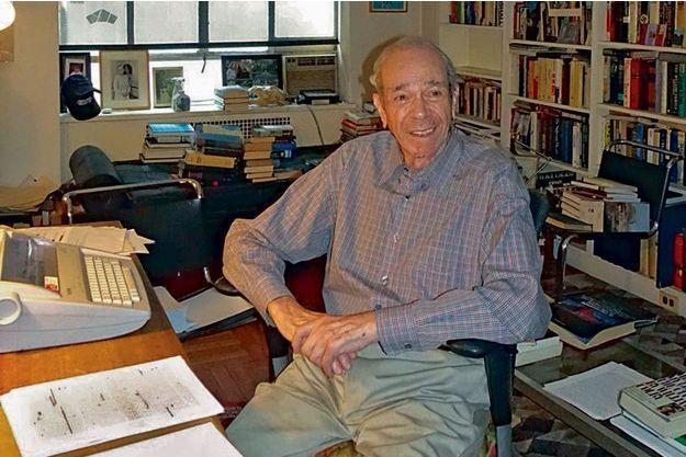 """Ted Morgan, auteur de """"Ma bataille d'Alger""""."""
