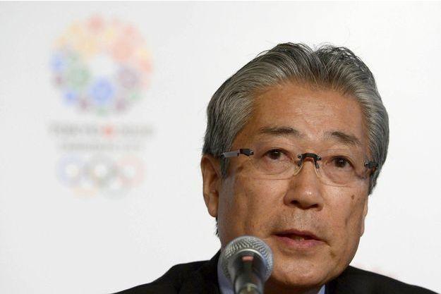 Le président du comité olympique japonais, Tsunekazu Takeda.