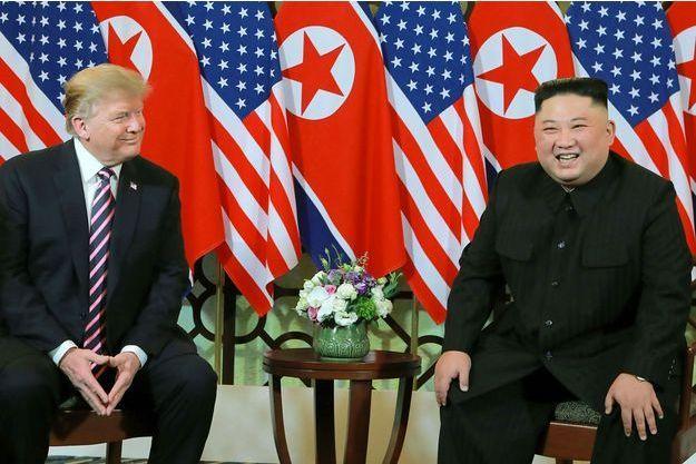 Donald Trump et Kim Jong Un à Hanoï, le 27 février.