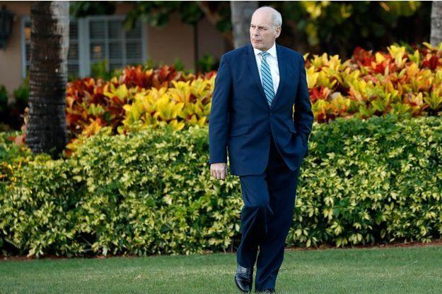 Le secrétaire général de la Maison Blanche John Kelly à Palm Beach mi-avril.
