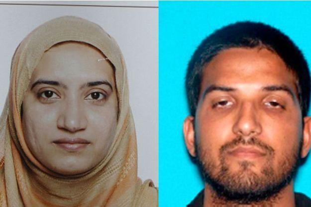Tashfeen Malik et son époux Syed Farook