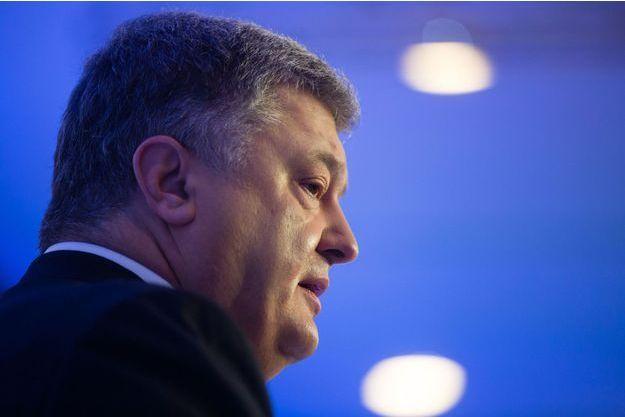 Petro Poroshenko, président ukrainien le 25 janvier 2018