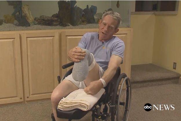 Kurt Kaser, 63 ans, raconte son geste à ABC News.