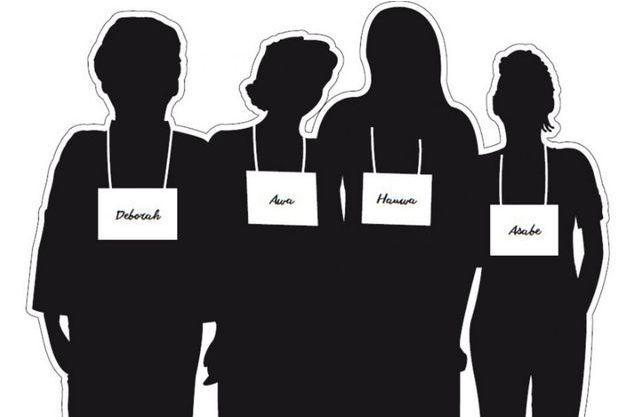 """Les silhouettes seront exposées pendant un mois à Paris dans le cadre de la mobilisation """"Bring back our girls""""."""