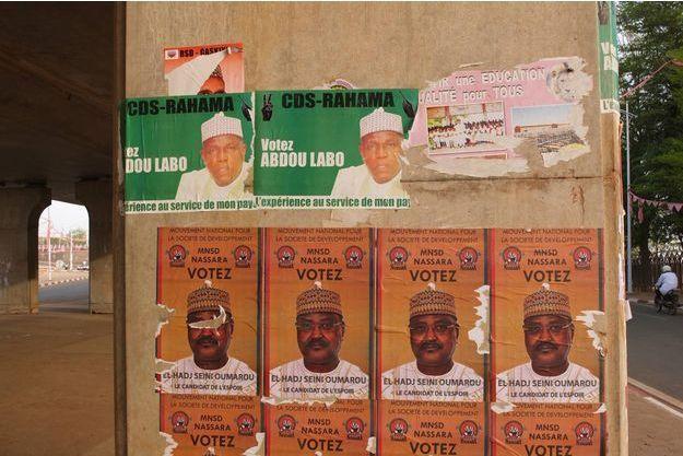 Niamey, le 26 février 2016, à 18h ont été annoncés les résultats du premier tour des élections présidentielles et législatives