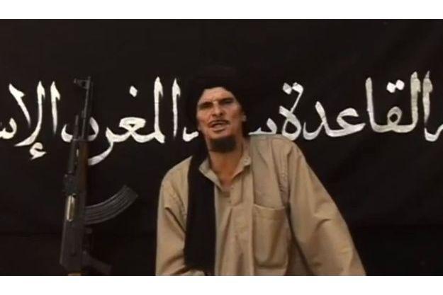 Capture d'écran de la vidéo d'Abdel Jelil, Français vivant au Mali aux côtés des islamistes.