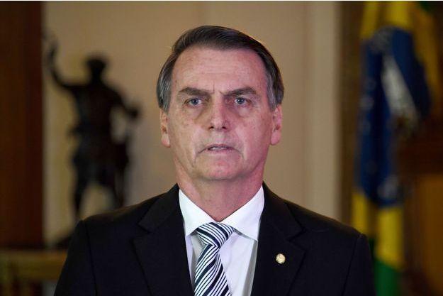 Jair Bolsonaro, le 7 novembre 2018, à Brasilia