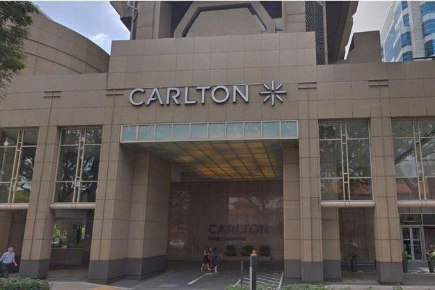 Hôtel Carlton à Singapour.