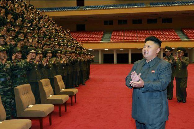 Kim Jong-un photographié le 30 août dernier, moins d'une semaine avant sa dernière apparition publique.