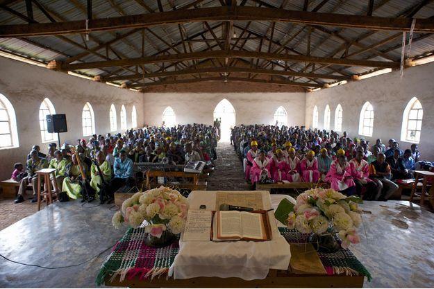 Une église à Lubero, en République démocratique du Congo (image d'illustration).
