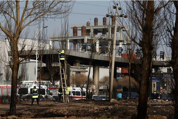 L'explosion a eu lieu mercredi en Chine.