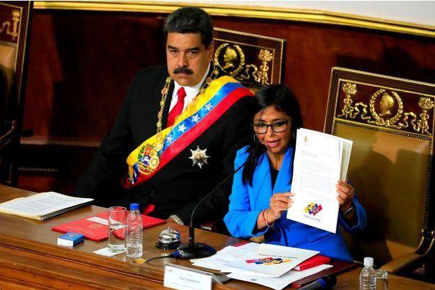 Nicolas Maduro, Delcy Rodriguez