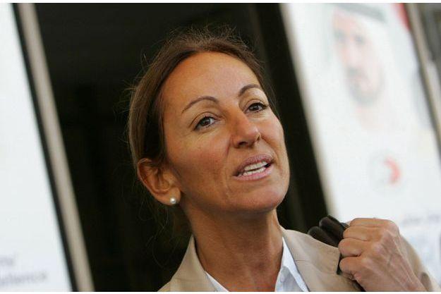 Véronique Robert en 2007 à Dubaï.
