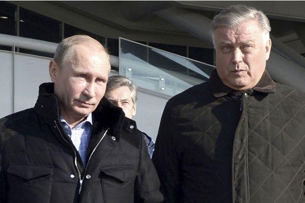 Le président Poutine et Vladimir Iakounine