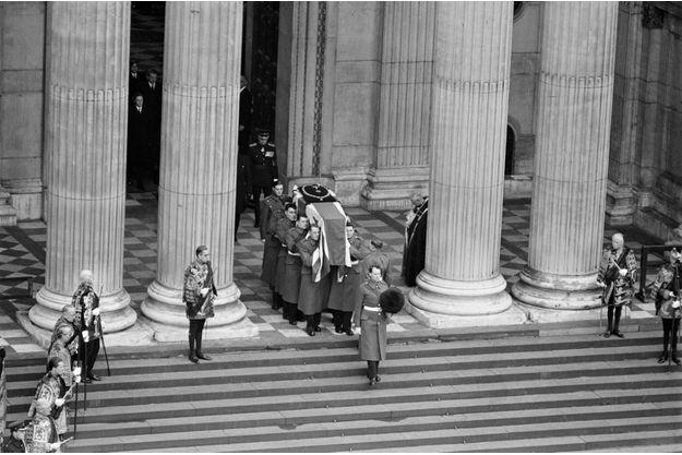 Les funérailles nationales de Winston Churchill