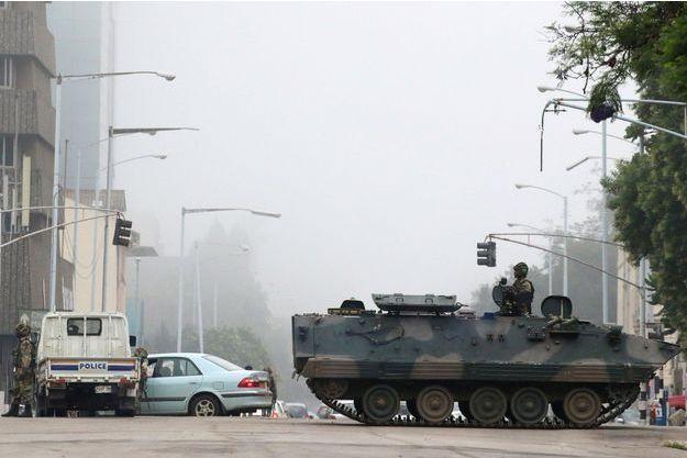 La situation reste confuse à Harare.