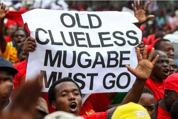 Manifestation monstre jeudi 14 avril à Harare.