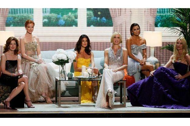 De gauche à droite, Dana Delany, Marcia Cross, Teri Hatcher, Felicity Huffman, Eva Longoria et Nicollette Sheridan.