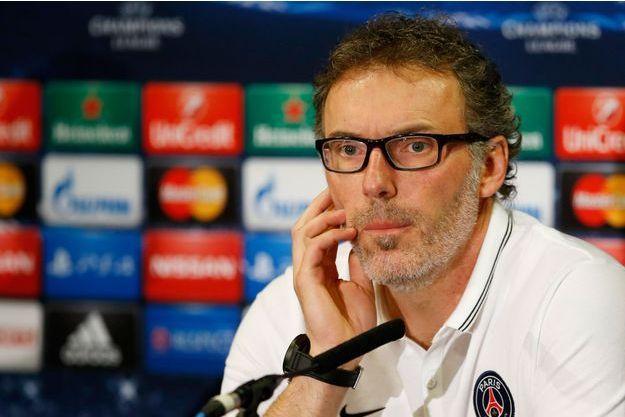 Laurent Blanc n'a pas répondu aux questions des journalistes de Canal+ samedi.