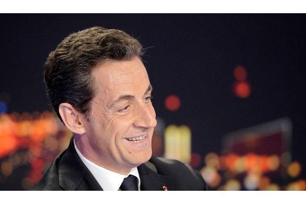 Nicola Sarkozy au JT de Laurence Ferrari
