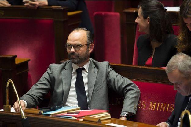 Edouard Philippe à l'Assemblée nationale, jeudi.