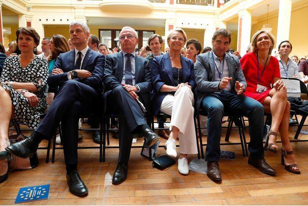 Au Conseil national des Républicains consacré à l'Europe, samedi à Menton.
