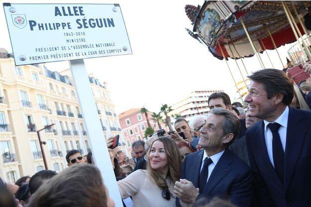 Une allée Philippe Seguin a été inaugurée, tout comme une rue Charles Pasqua.