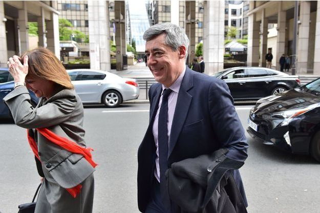 Henri Guaino à Paris le 2 mai dernier.