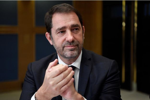Christophe Castaner devant la commission d'enquête du Sénat.