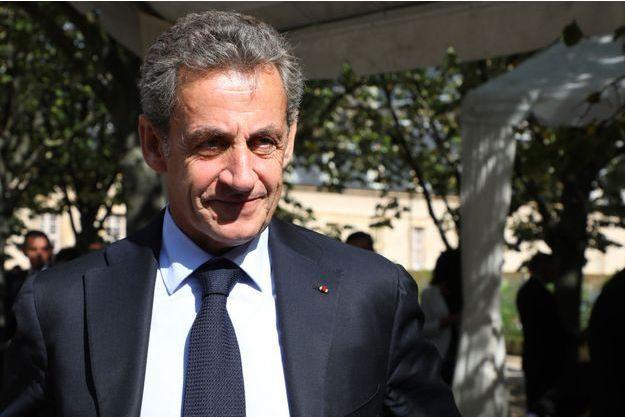 Nicolas Sarkozy mercredi à Paris pour l'hommage aux victimes du terrorisme.
