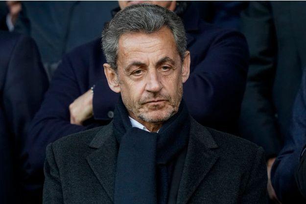 Nicolas Sarkozy ici au Parc des Princes début mai.
