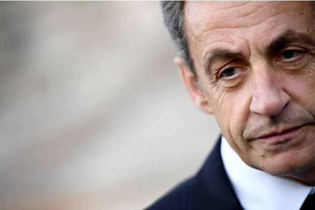 Nicolas Sarkozy, ici en mai 2017 à Paris.