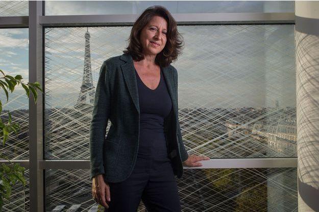 Agnès Buzyn dans son bureau au ministère de la Santé.