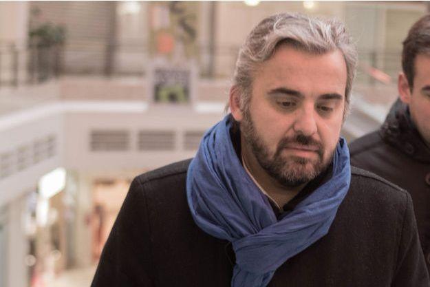 Alexis Corbière, à Montreuil début février.