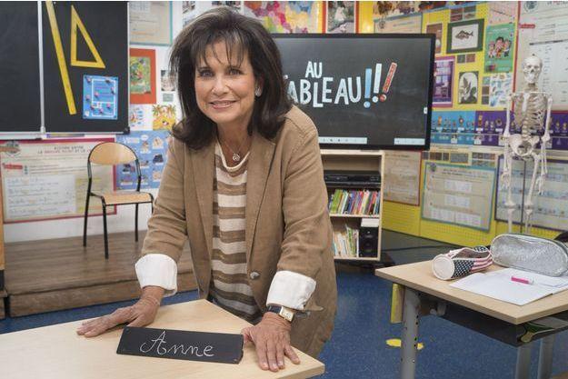 Anne Sinclair dans «Au Tableau!!!»