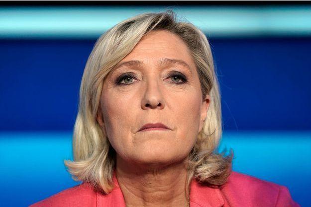 Marine Le Pen, mercredi soir au débat de France 2.