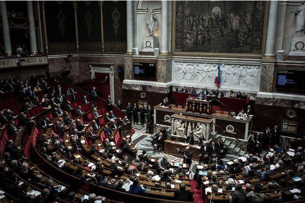 Assemblée nationale, le 31 janvier 2017.