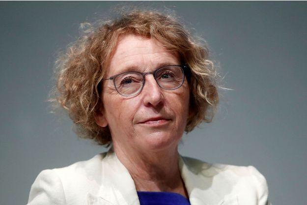 La ministre du Travail Muriel Pénicaud le 29 août dernier à École des hautes études commerciales de Paris.