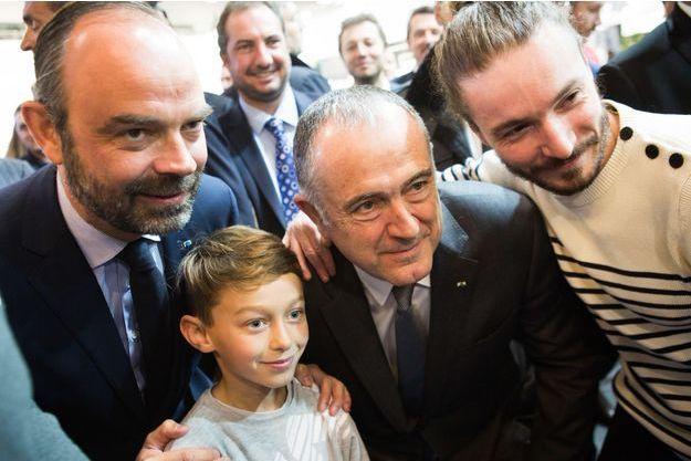 Edouard Philippe lundi au Salon de l'Agriculture.